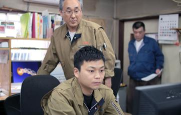 会社の仕事の精度の高さに驚く平野さん