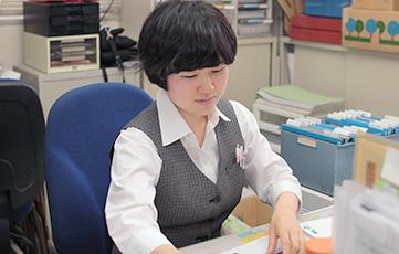 社内の明るい雰囲気について語る北田さん