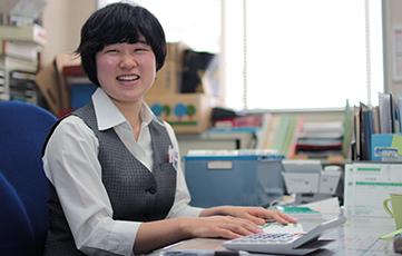 幅広い仕事も懸命にチャレンジする北田さん